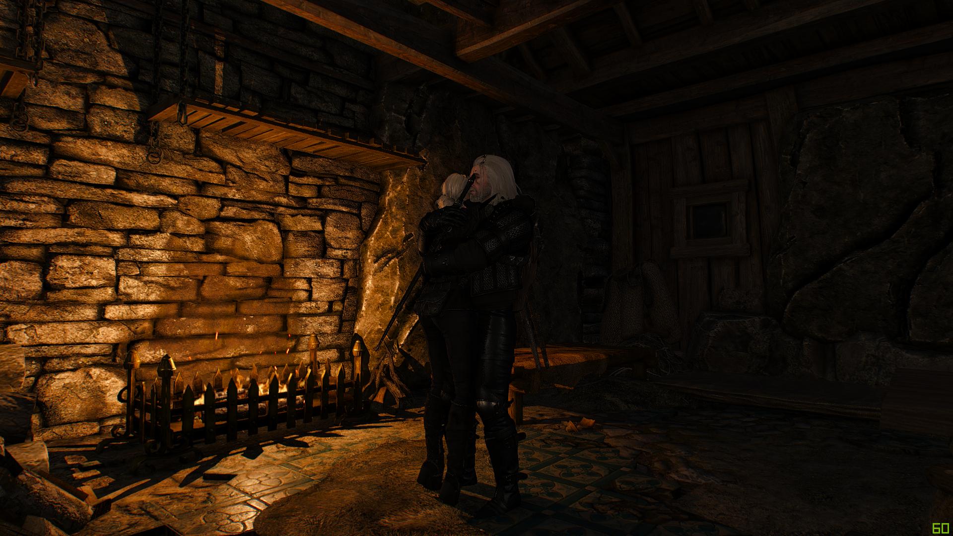 Геральт и Цири - Witcher 3: Wild Hunt, the Персонаж
