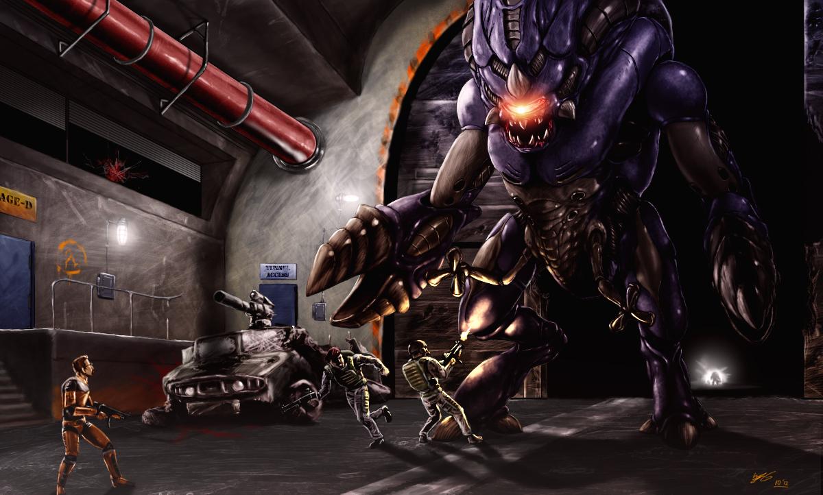 Гордон - Black Mesa Арт, Персонаж