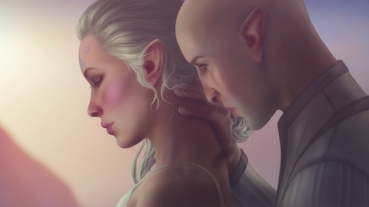solas_and_lavellan_by_missbasha-da31iyk.png - Dragon Age: Inquisition