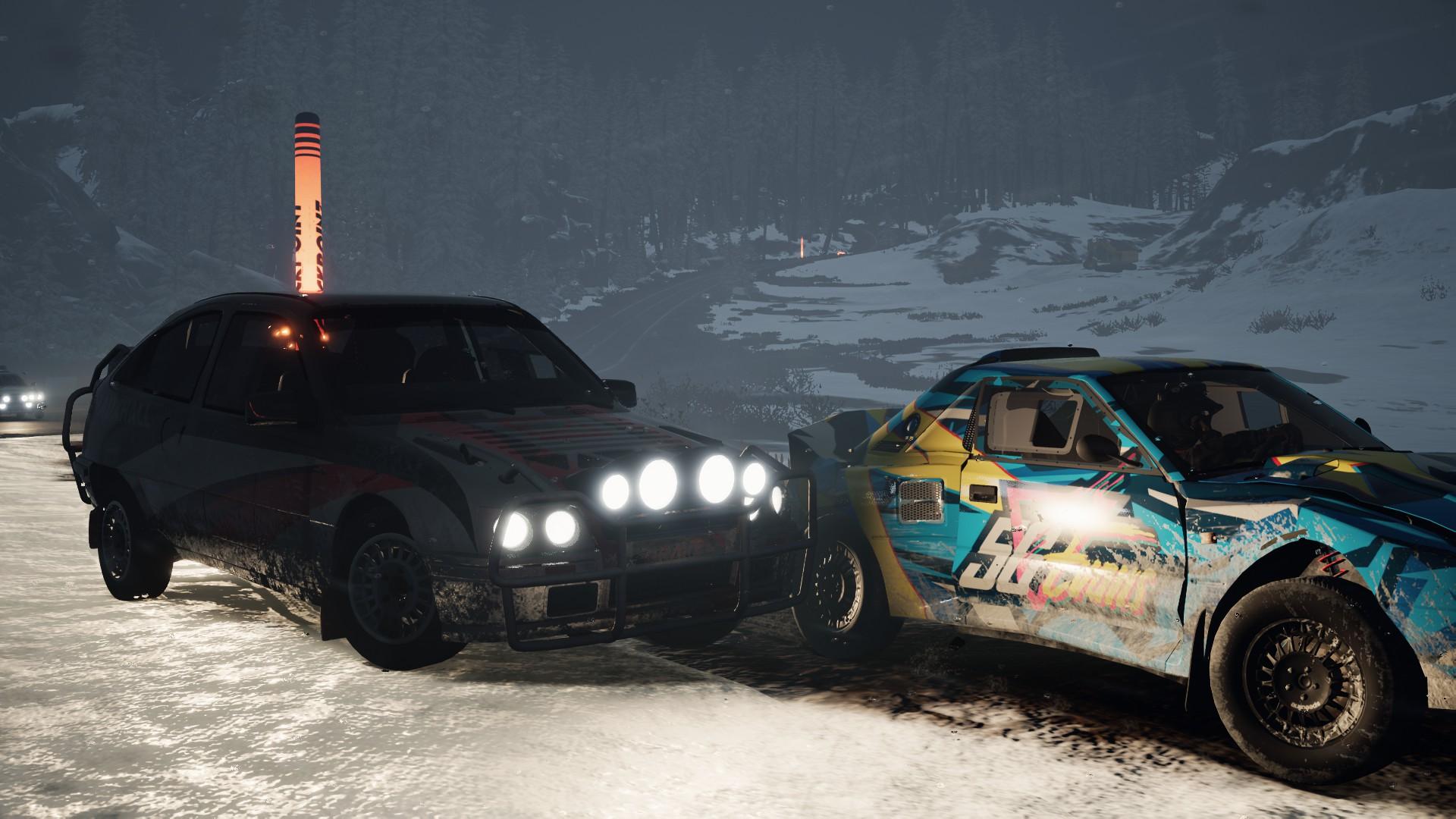 Зимние гонки - Gravel