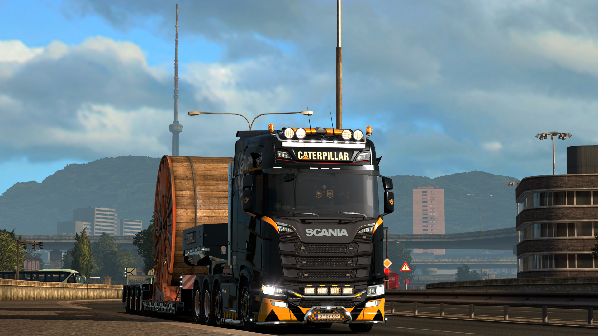 Scania Next Gen Caterpillar - Euro Truck Simulator 2
