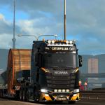 Euro Truck Simulator 2 Scania Next Gen Caterpillar