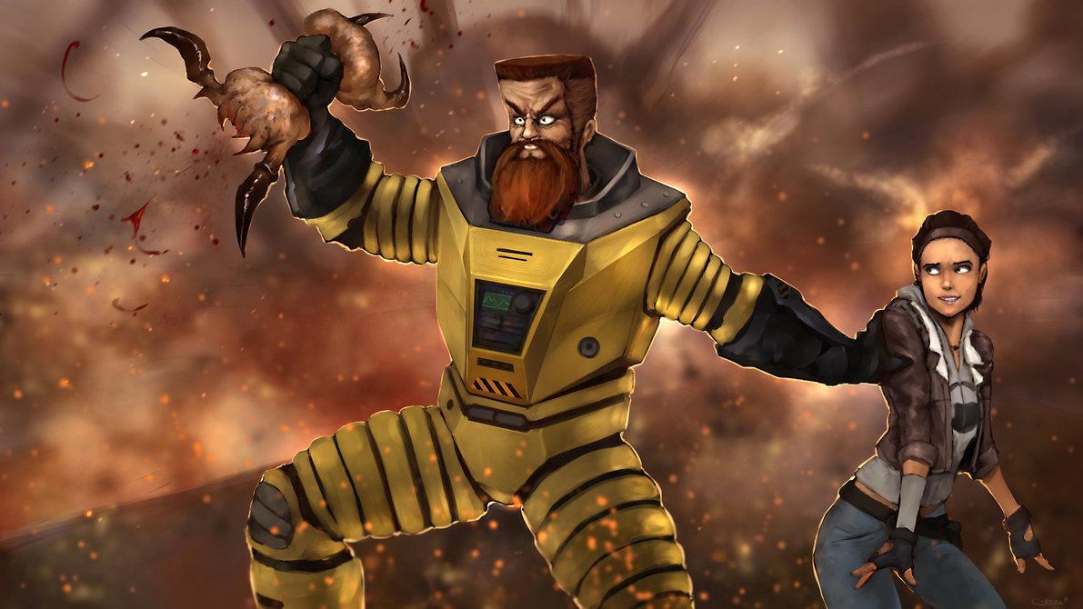 Отойди в сторону девочка, Иван позаботится обо всём - Half-Life 2 Арт, Персонаж