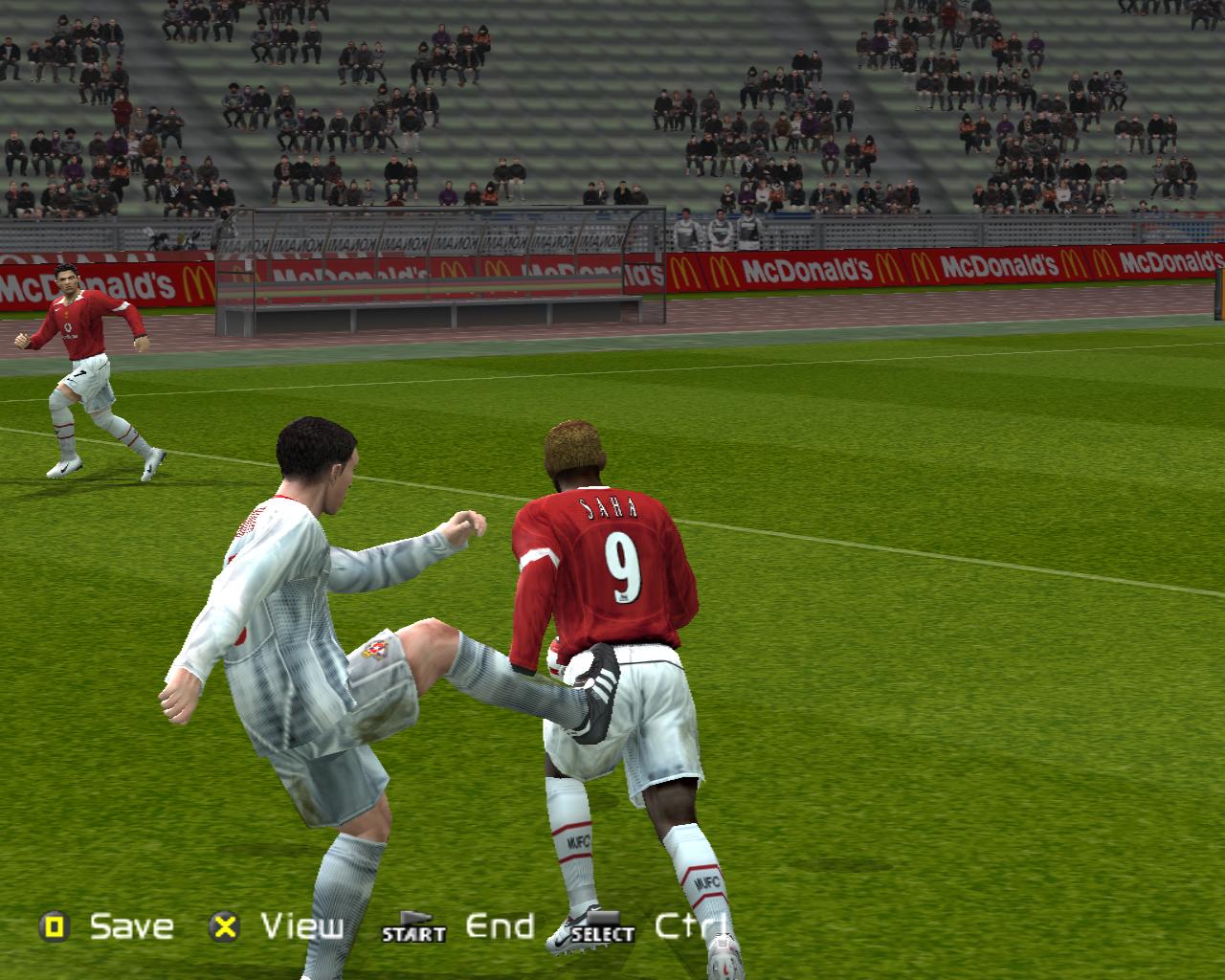 Для ускорения - Pro Evolution Soccer 5 Юмор