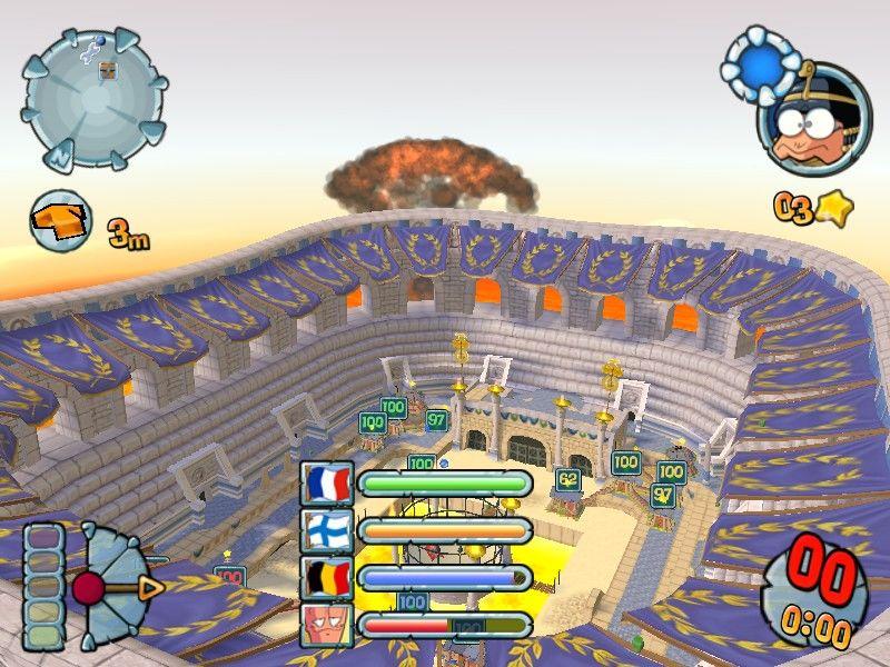 - - Worms Forts Under Siege