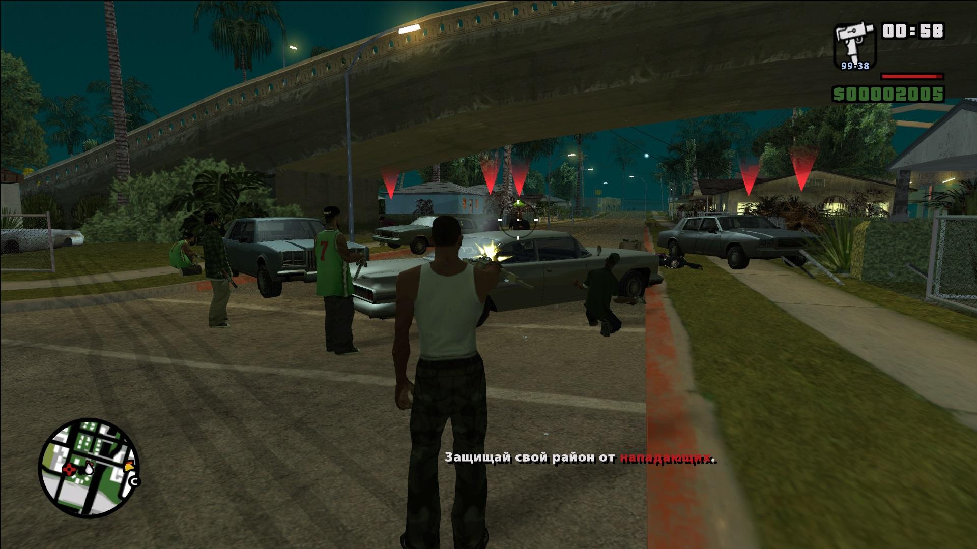 GTA San Andreas (mod - full screen and PS2 sun bloor) - Grand Theft Auto: San Andreas Моды