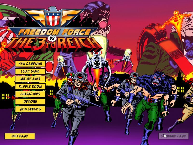 - - Freedom Force vs the 3rd Reich