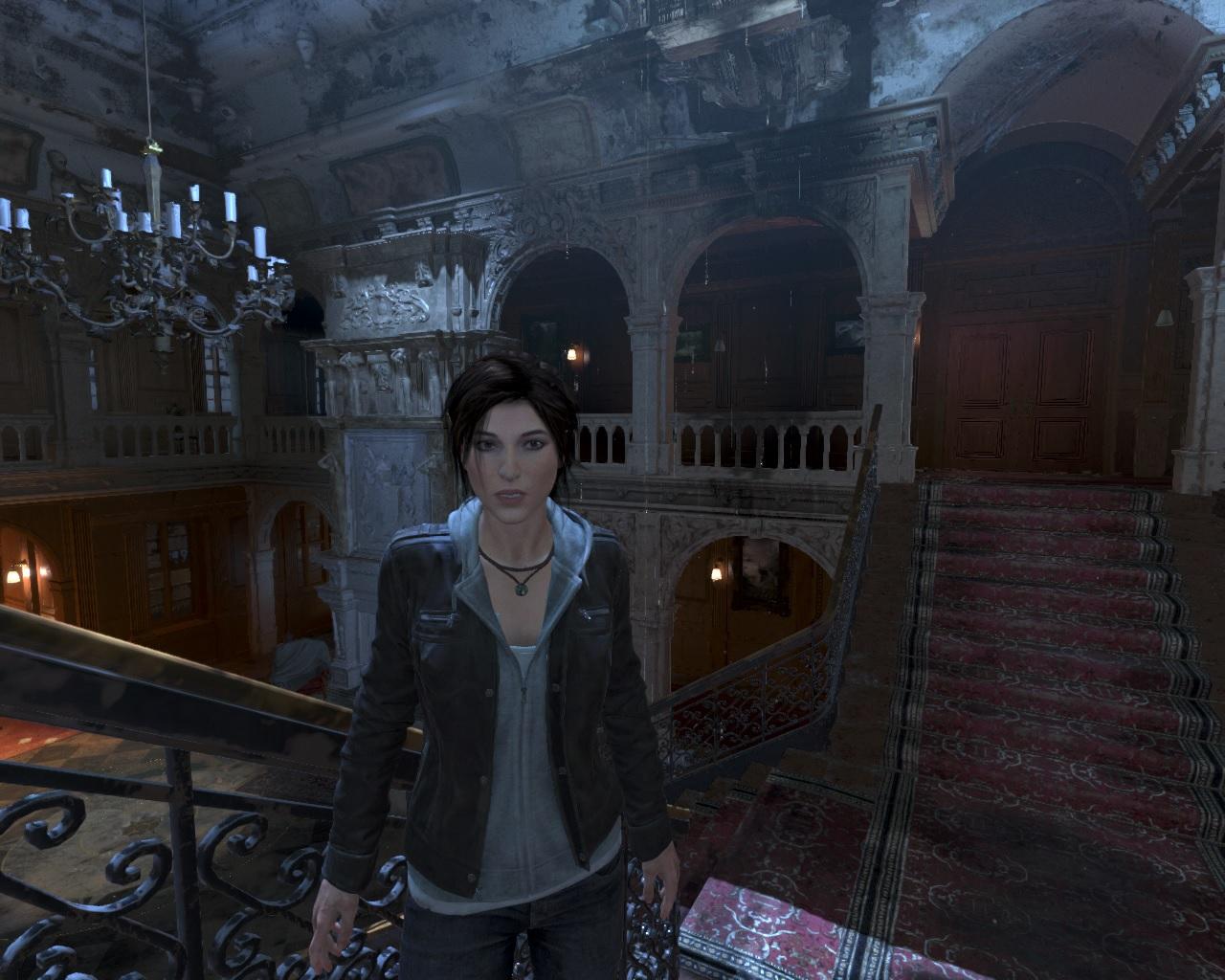 Ларка ин да хаус - Rise of the Tomb Raider