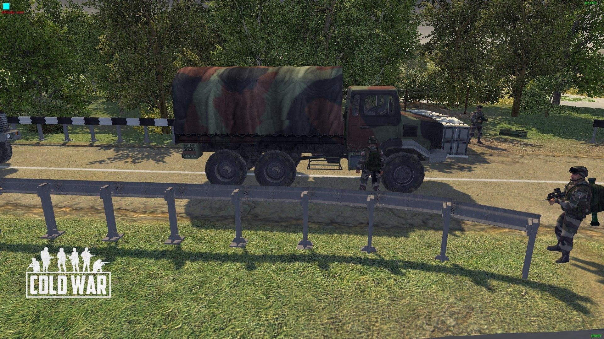 Cold War (Грузовик Renault Truck GBC 180) - Men of War: Assault Squad 2 Моды