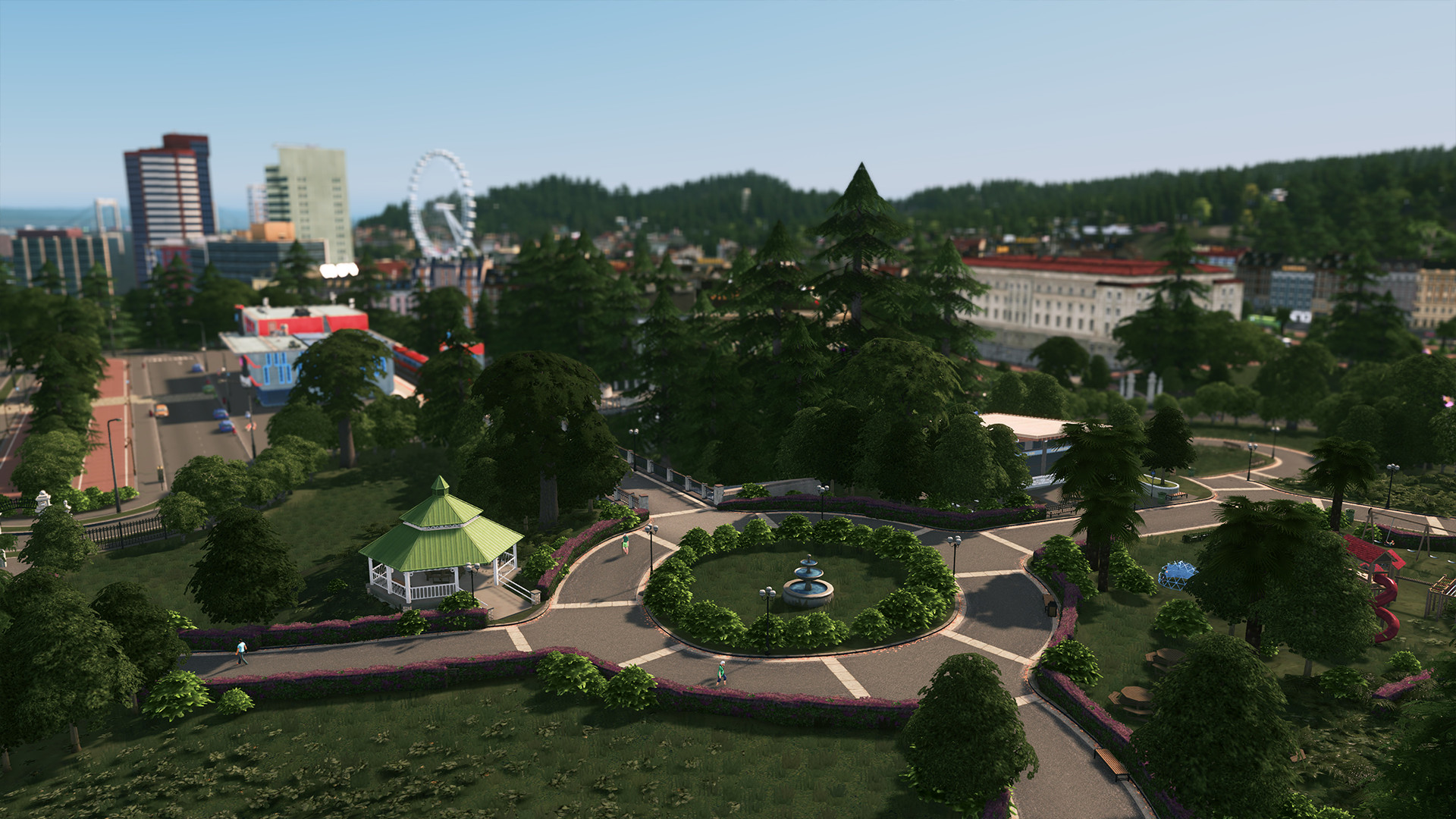 Parklife - Cities: Skylines DLC