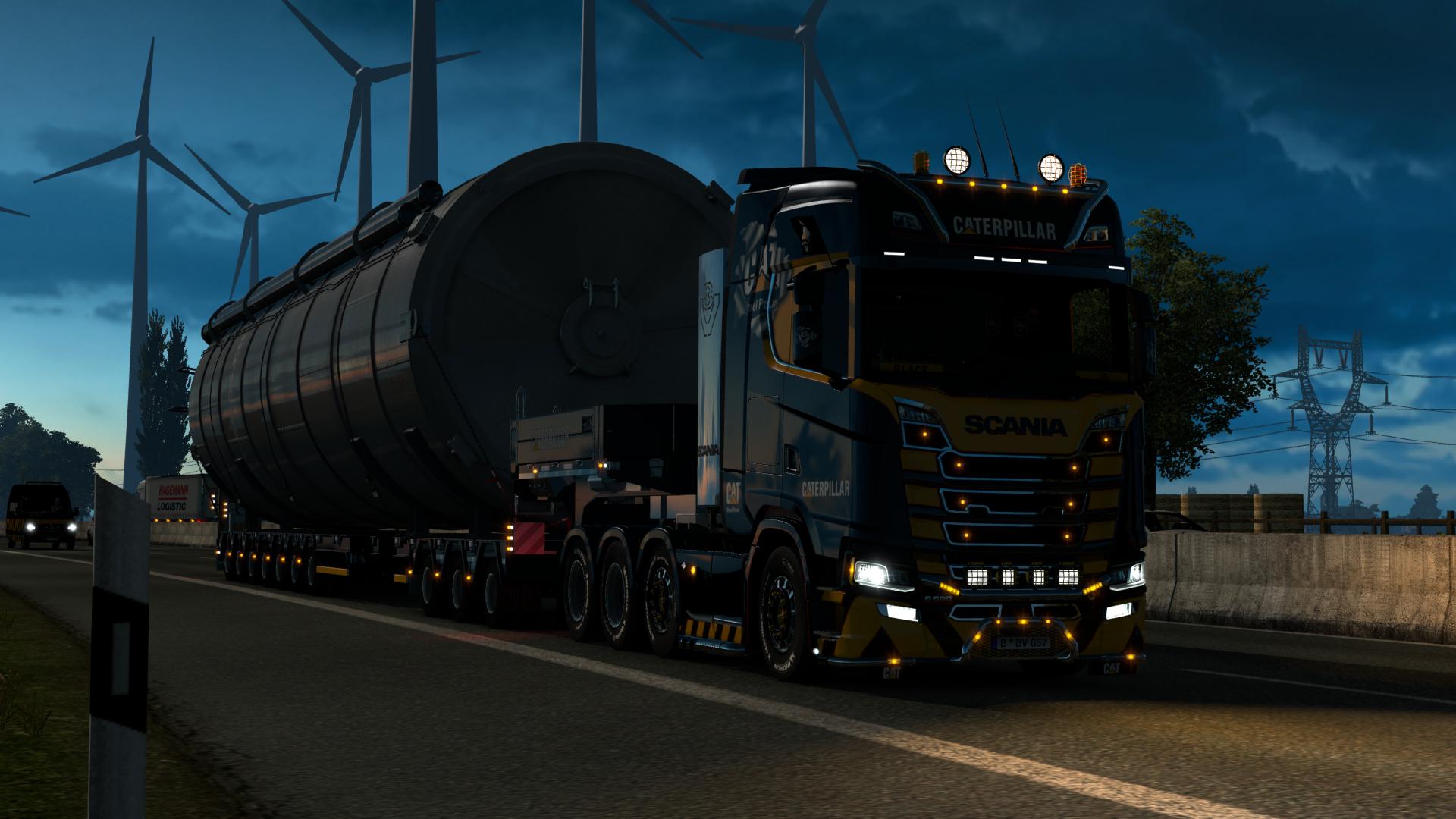 Scania 2016 V8 CAT - Euro Truck Simulator 2