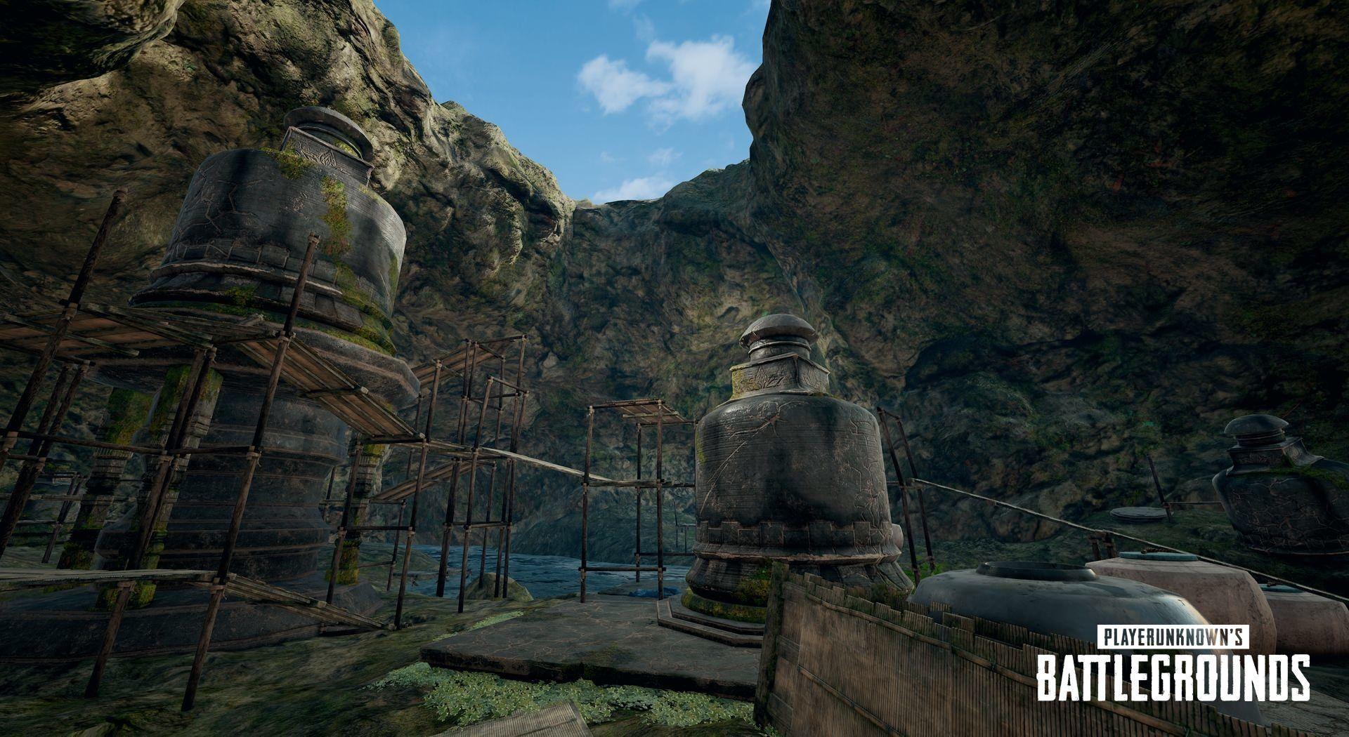 PUBG - 4x4km island map - Sanhok - PlayerUnknown's Battlegrounds Арт, Карта