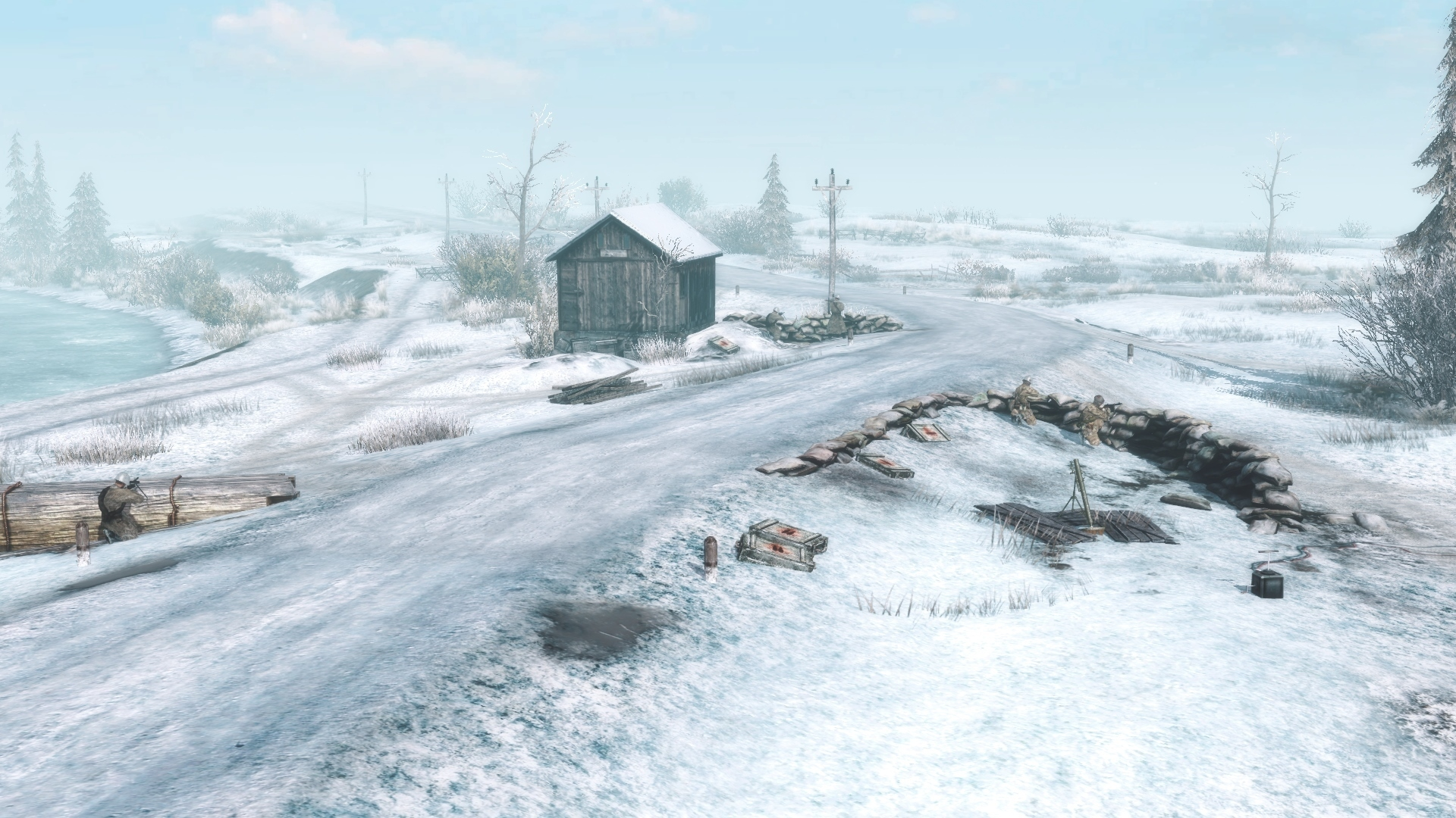 Зимняя карта - Gates of Hell