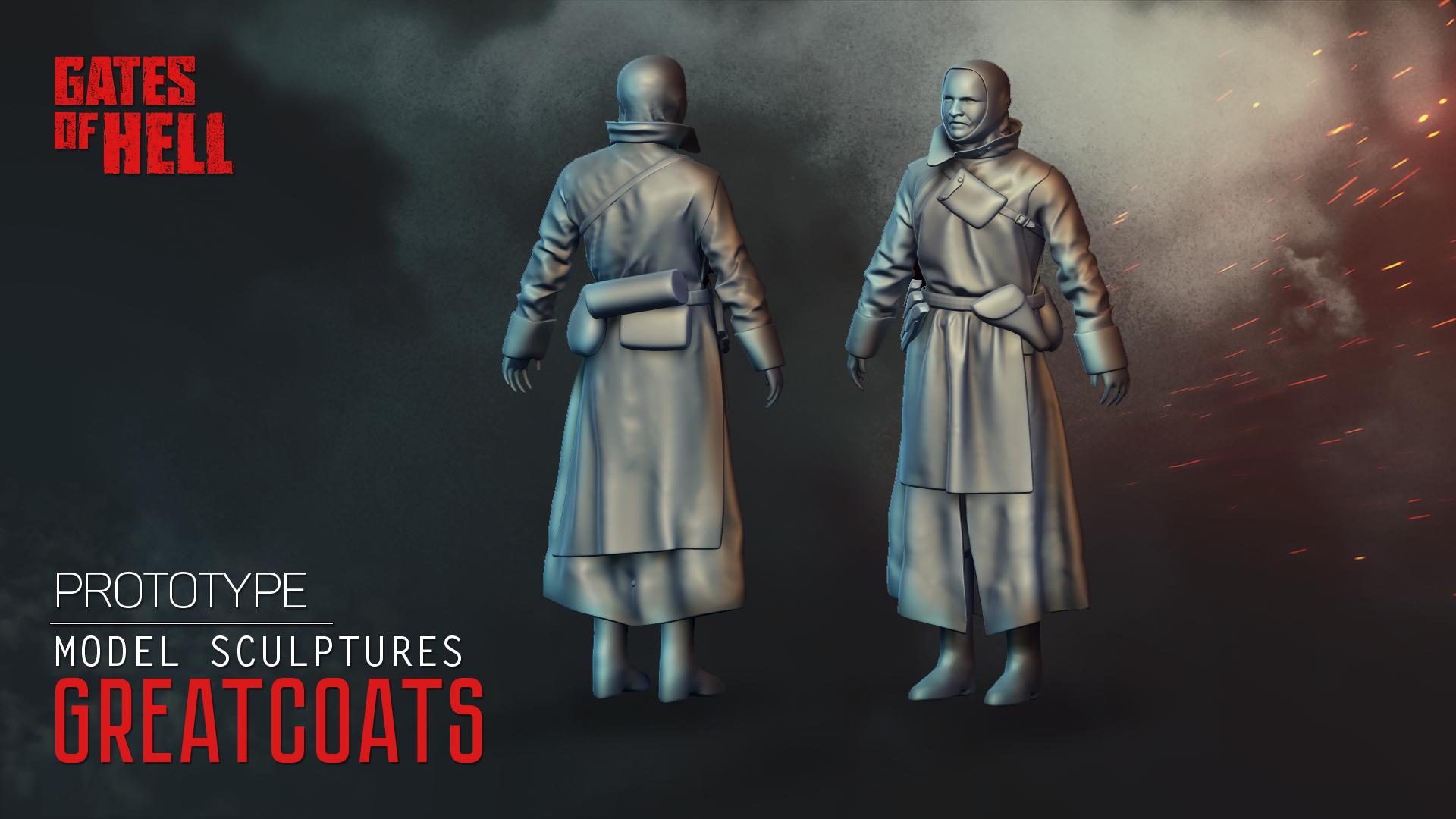 Модели пехоты - Gates of Hell Рендер