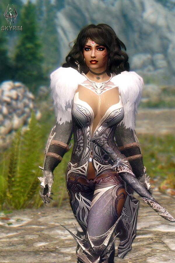 461. Кираса ''Другой мир''.jpg - Elder Scrolls 5: Skyrim, the CBBE, Сборка-21