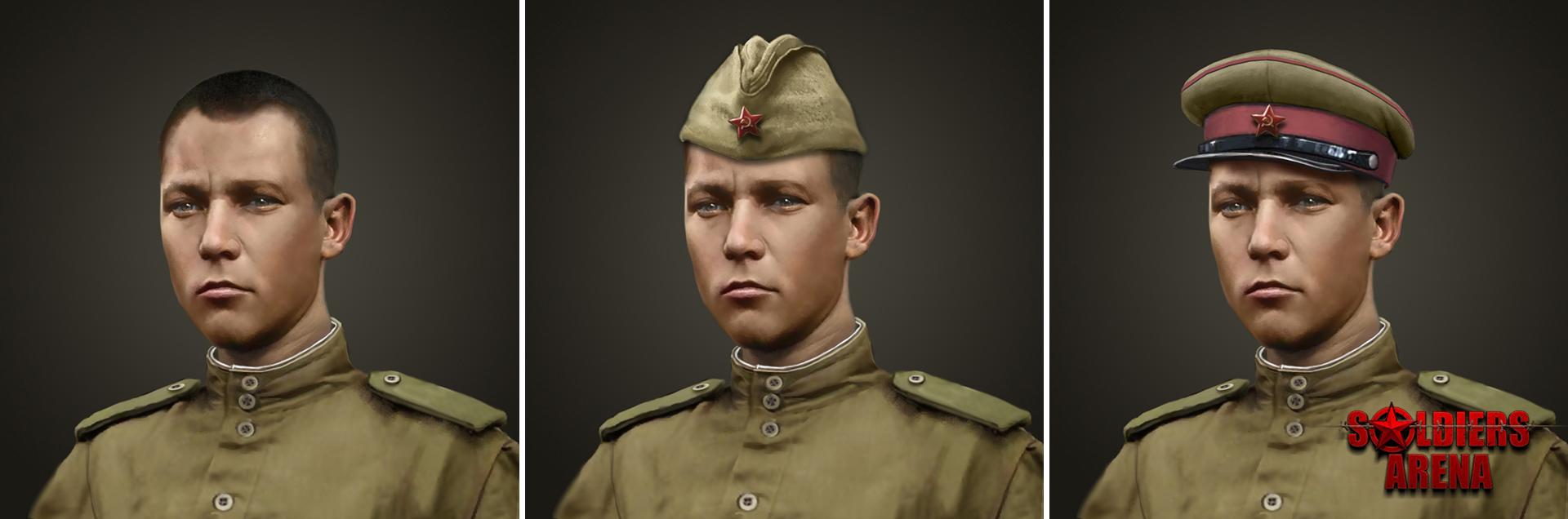Портрет пехотного командира - Soldiers: Arena Арт