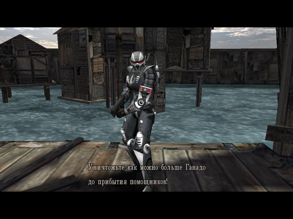 Смоук из MK для Resident Evil 4 - Resident Evil 4