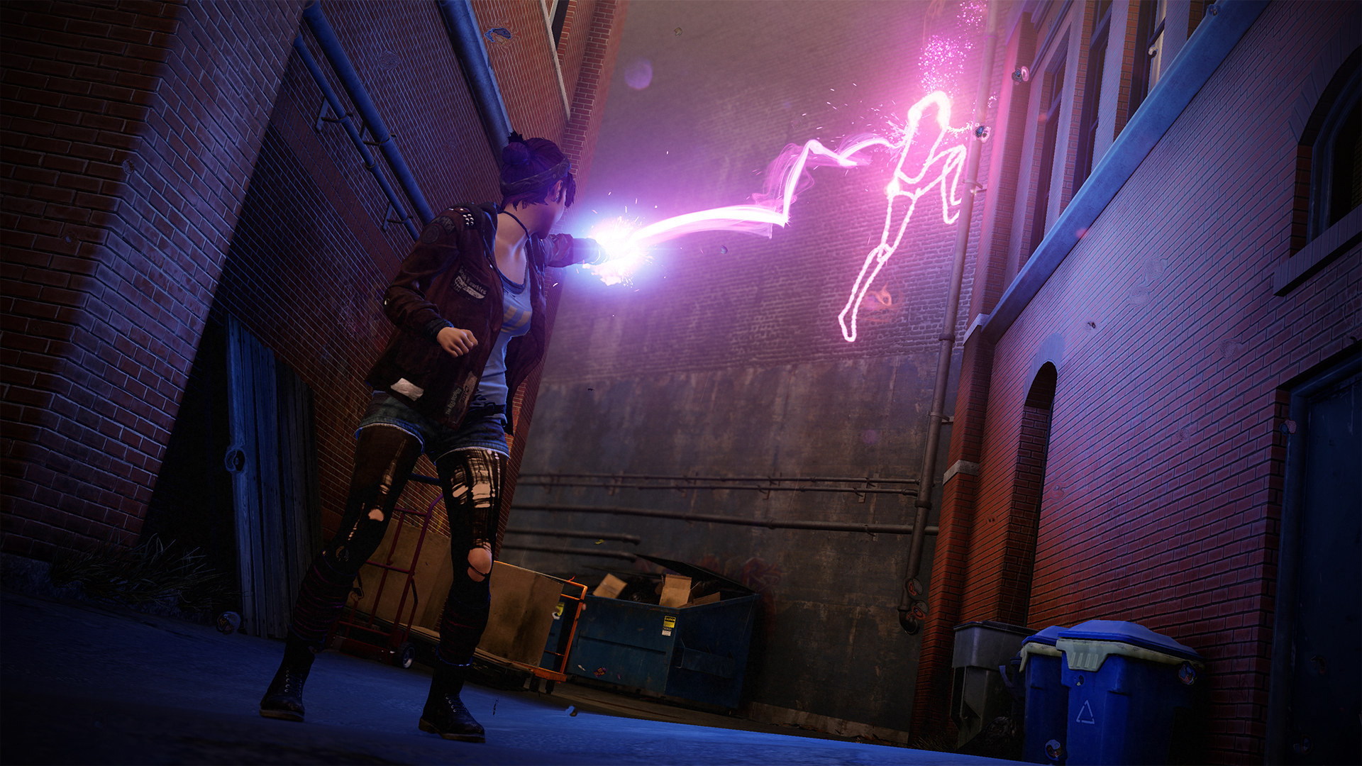 inFAMOUS_First_Light-Fetch_wall_writing_neon_442.jpg - inFamous: Second Son