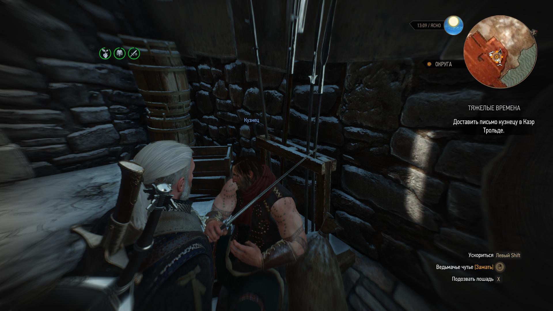 глюк в квесте 1 - Witcher 3: Wild Hunt, the