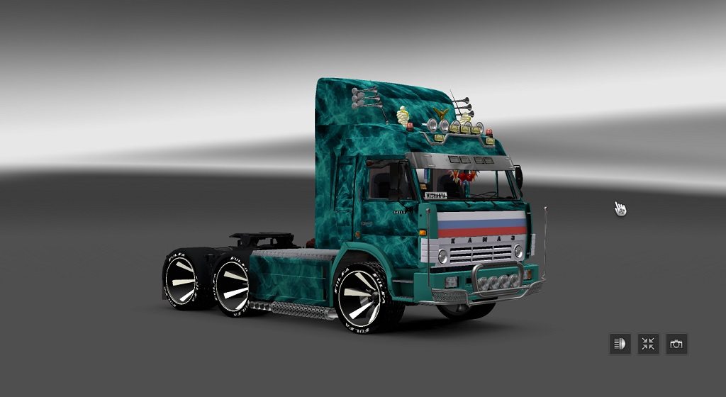 KAMAZ 54115 TURBO - Euro Truck Simulator 2