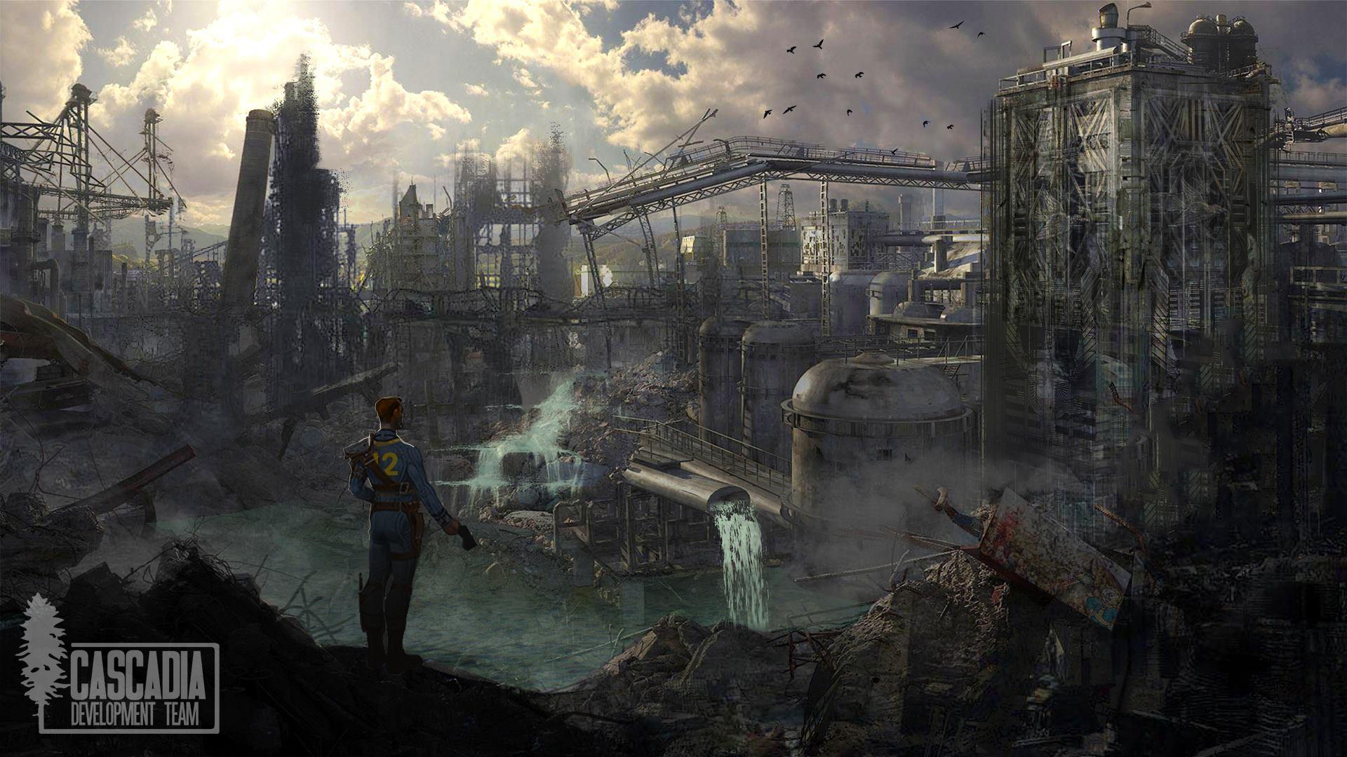 Fallout: Cascadia - Fallout 4 Арт