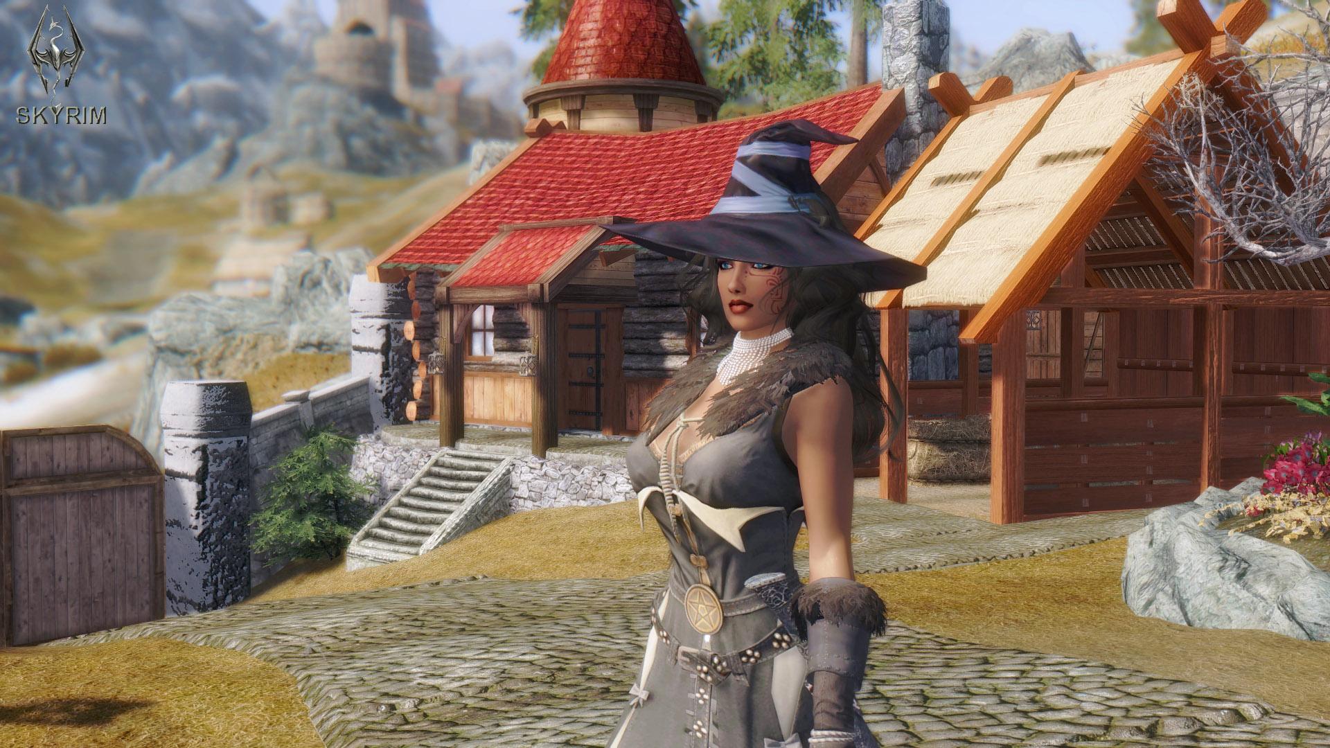 488. В поместье Хельярхен.jpg - Elder Scrolls 5: Skyrim, the CBBE, Сборка-21