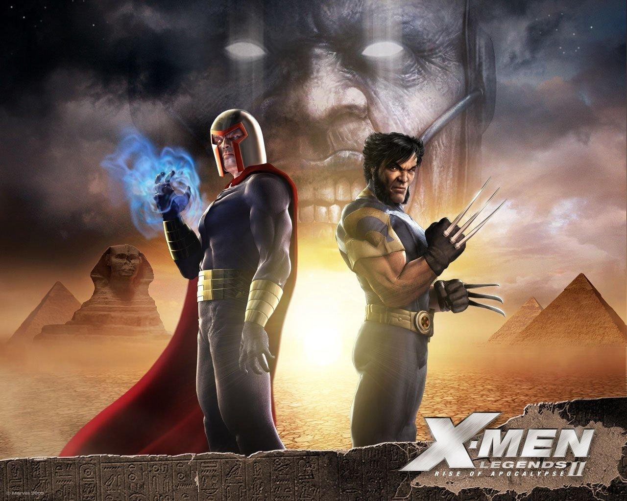 Магнето и Росомаха - X-Men Legends 2: Rise of Apocalypse Арт