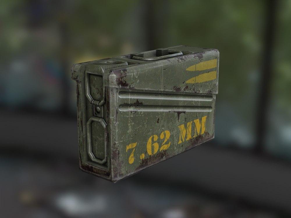 Ящик с патронами 7.62мм - Next Day: Survival Предмет, Рендер, Скриншот
