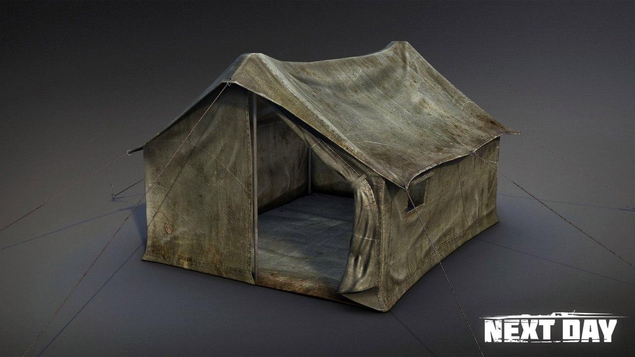 Палатка - Next Day: Survival Предмет, Рендер