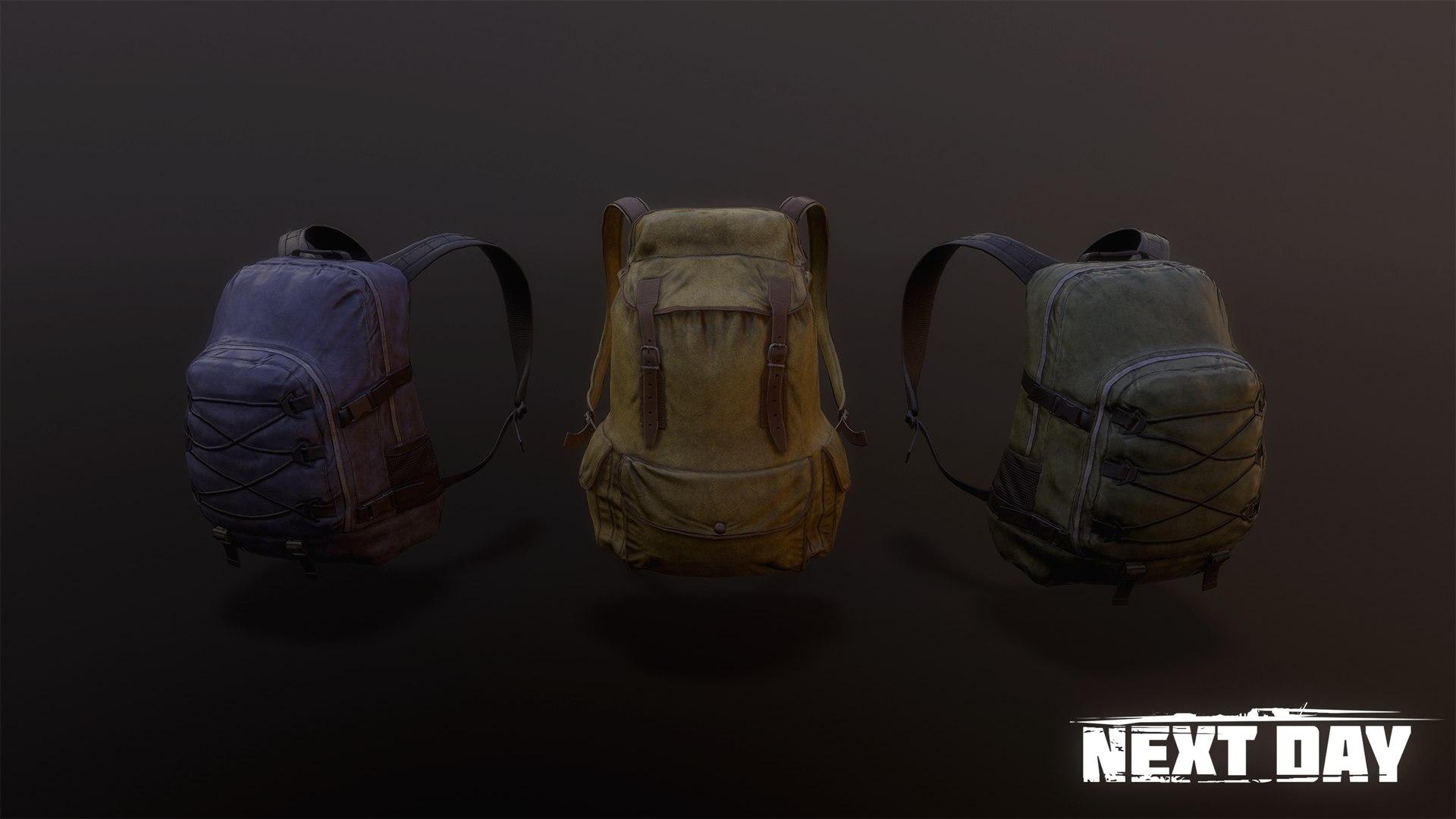 Рюкзак - Next Day: Survival Предмет, Рендер, Скриншот