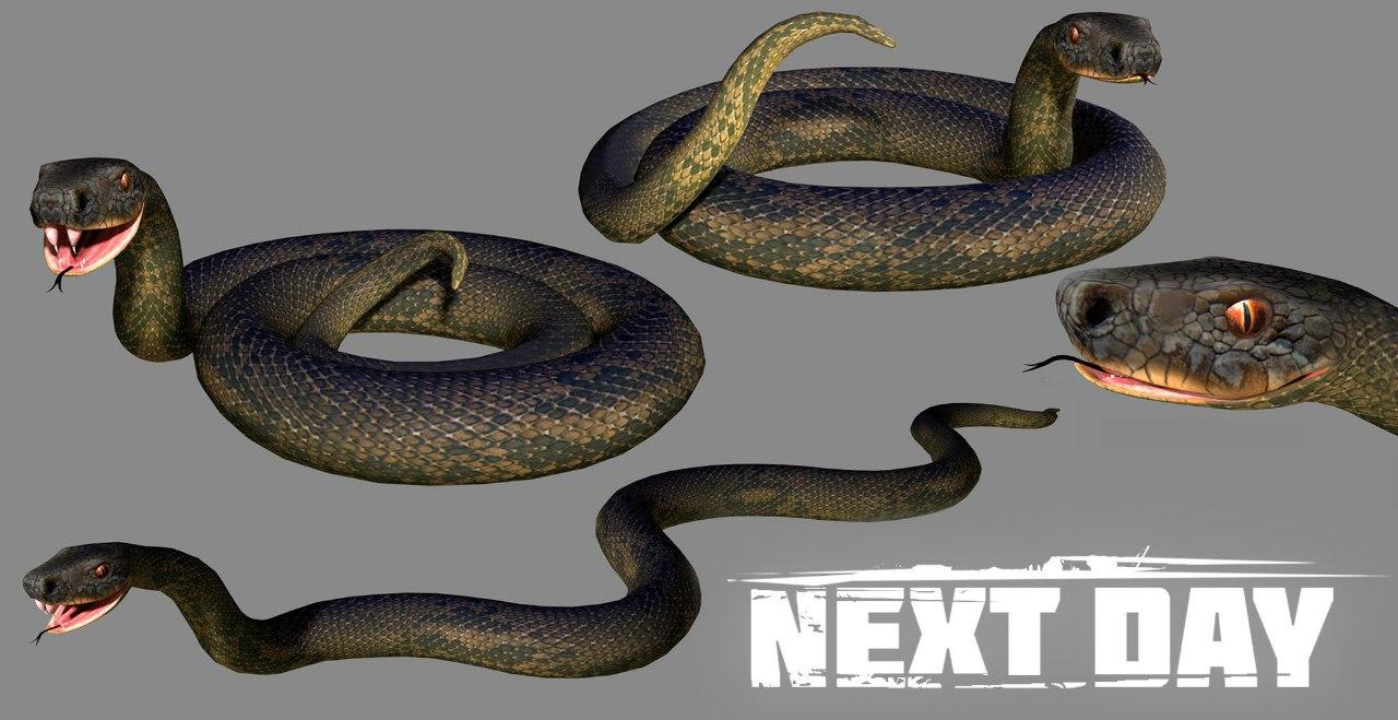 Змея - Next Day: Survival Рендер, Скриншот