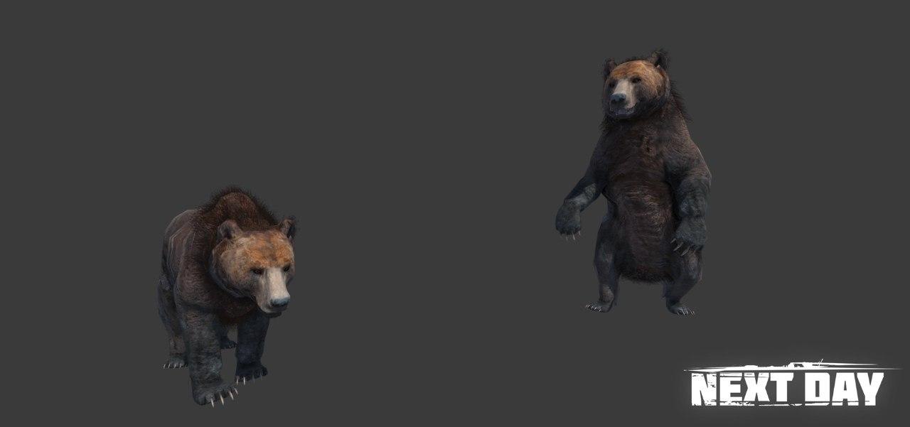 Медведь - Next Day: Survival Рендер