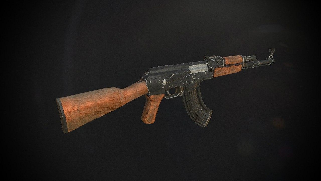 АКМ - Next Day: Survival Оружие