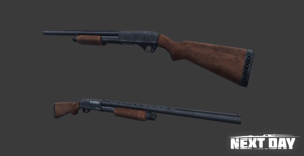 МР-133 - Next Day: Survival Оружие