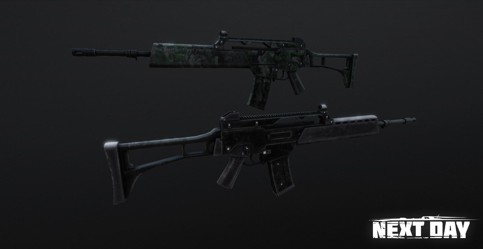 HK G36 - Next Day: Survival Оружие