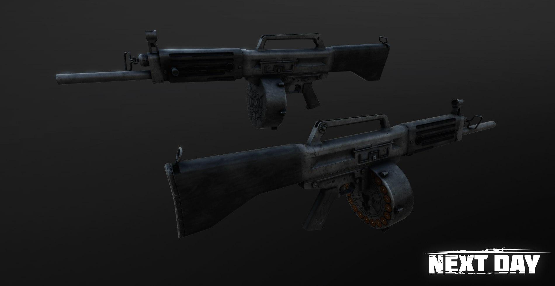 USAS-12 - Next Day: Survival Оружие