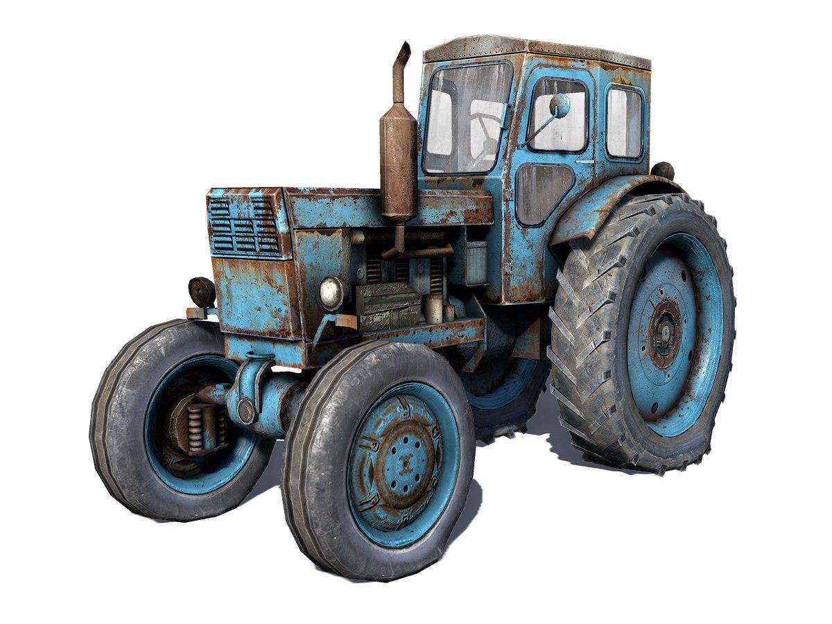 Т-40 - Next Day: Survival Трактор, Транспорт