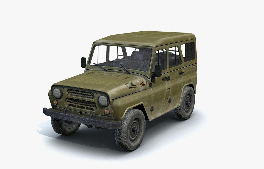 УАЗ - Next Day: Survival Рендер, Транспорт