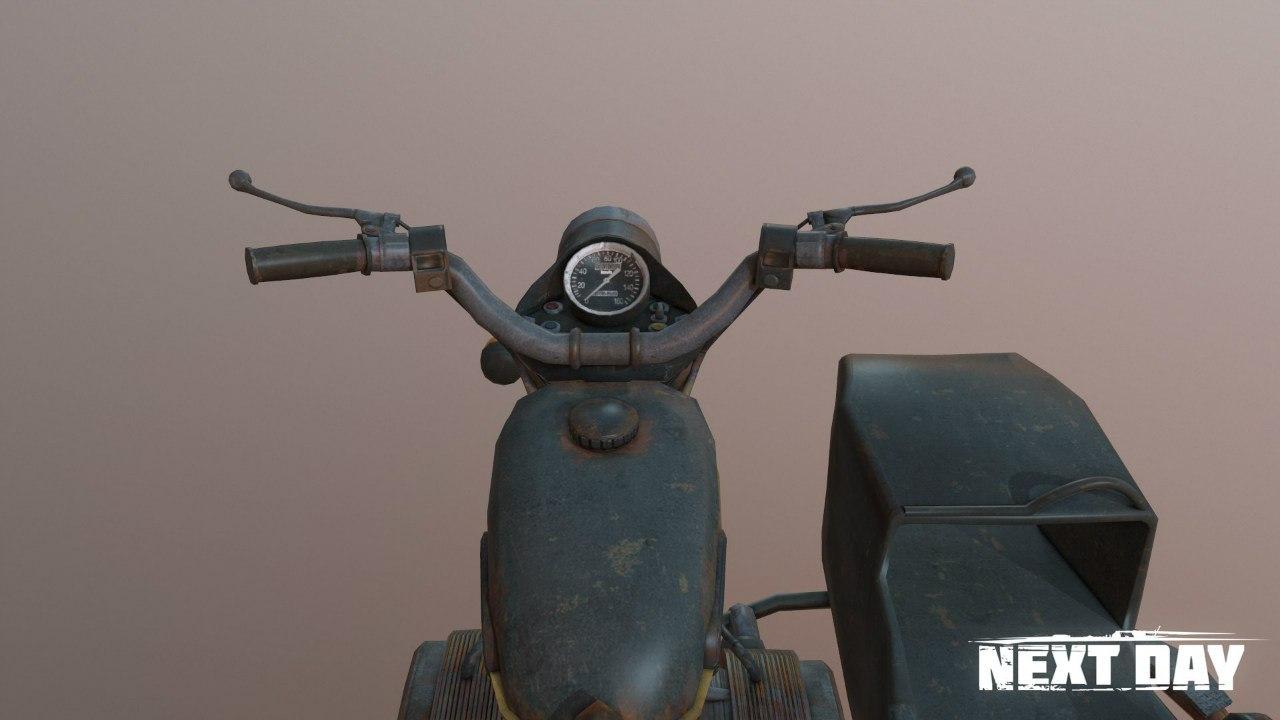 Мотоцикл - Next Day: Survival Рендер, Транспорт