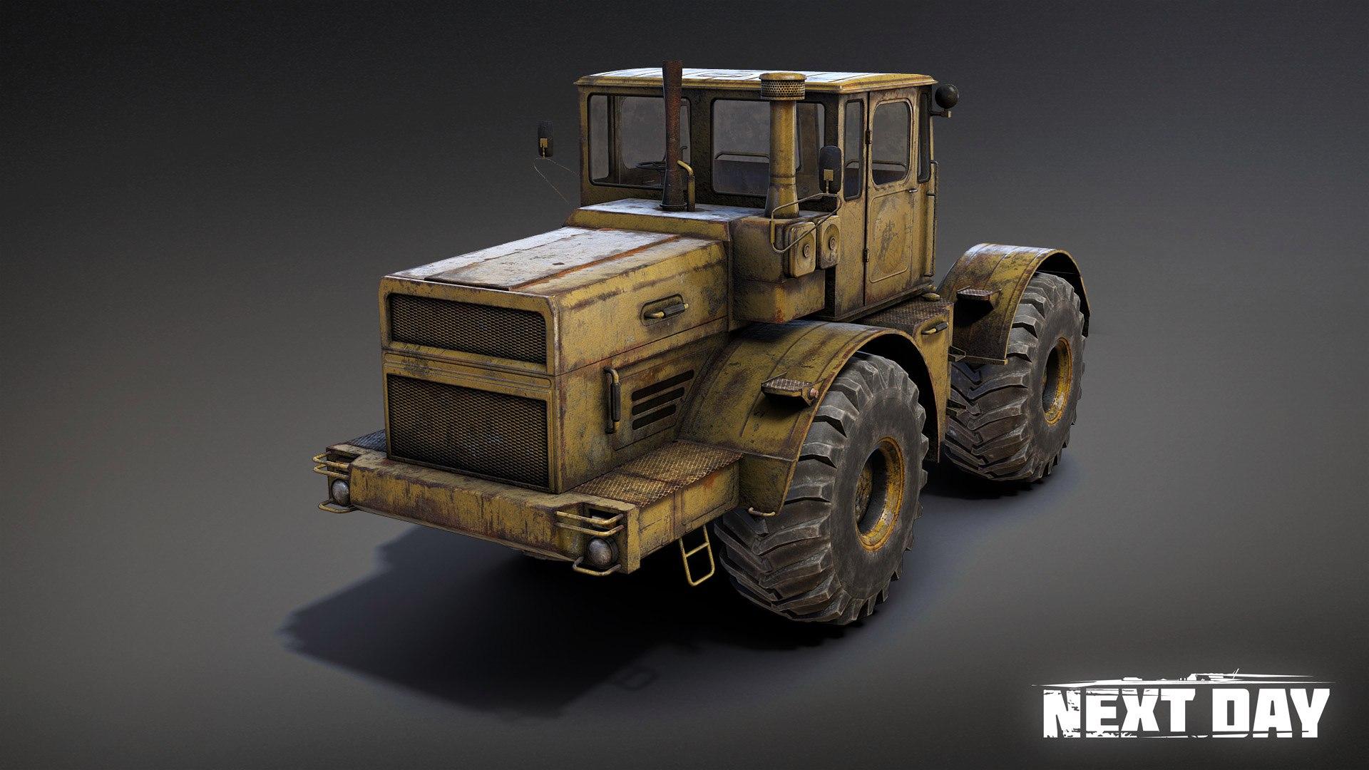 К-701 - Next Day: Survival Рендер, Трактор, Транспорт