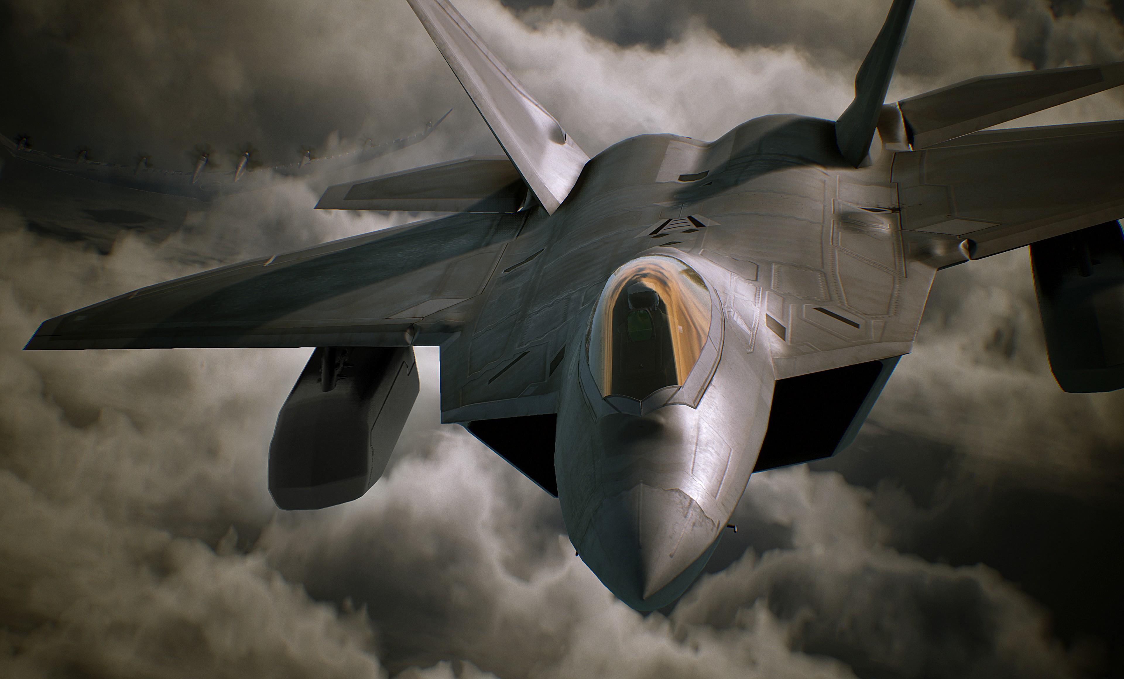 Ace Combat 7: Skies Unknown - Ace Combat 7: Skies Unknown 4K, Скриншот