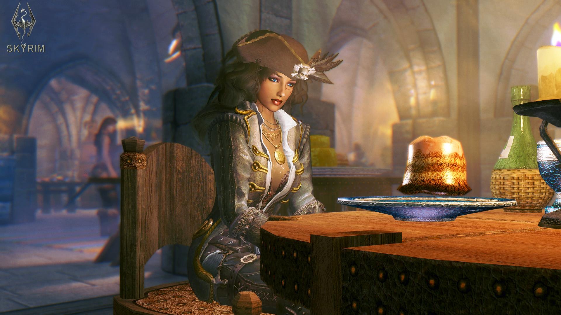 489. В таверне.jpg - Elder Scrolls 5: Skyrim, the CBBE, Сборка-21