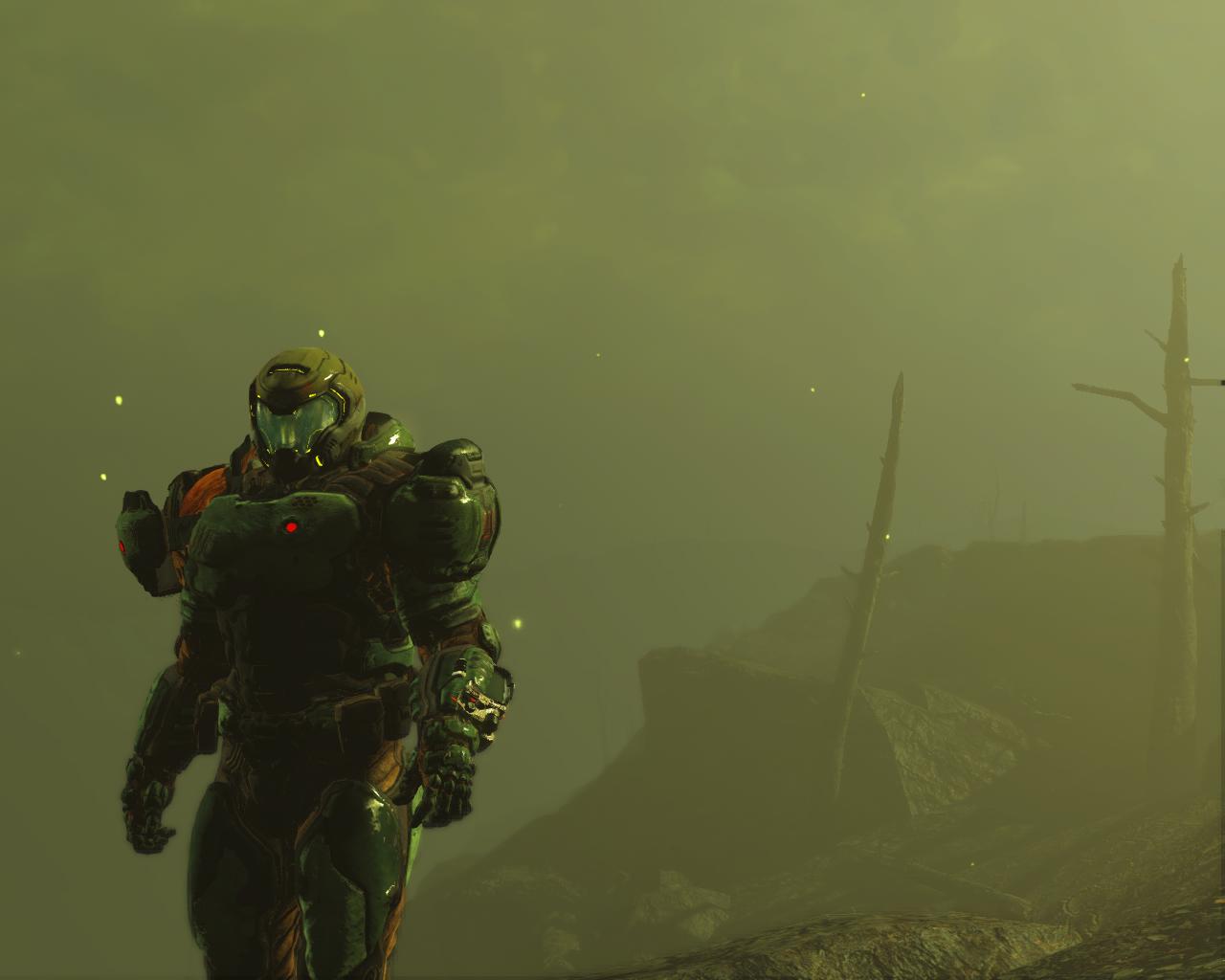штрих - Fallout 4 костюм