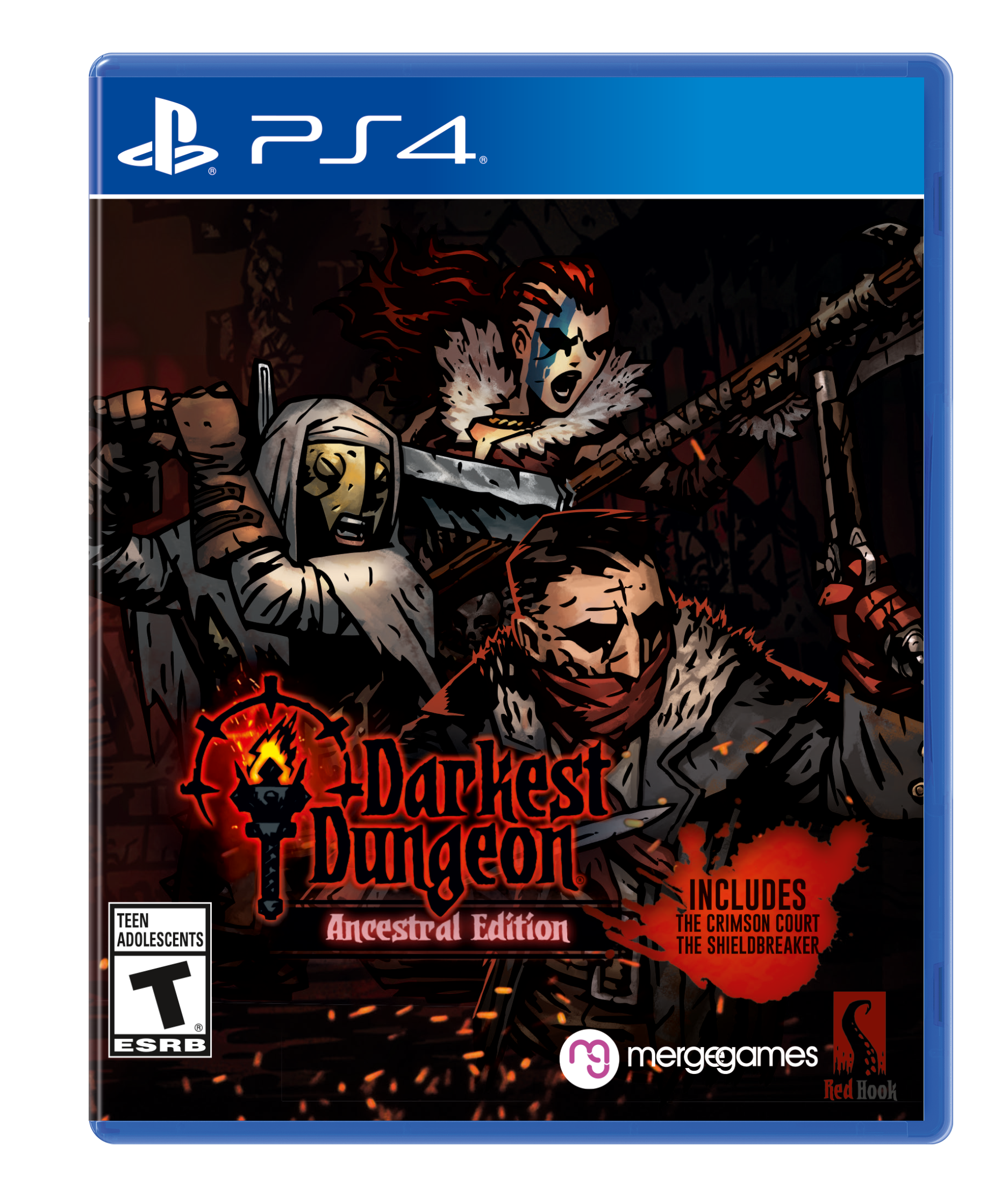 Бокс-арт (PS4) - Darkest Dungeon