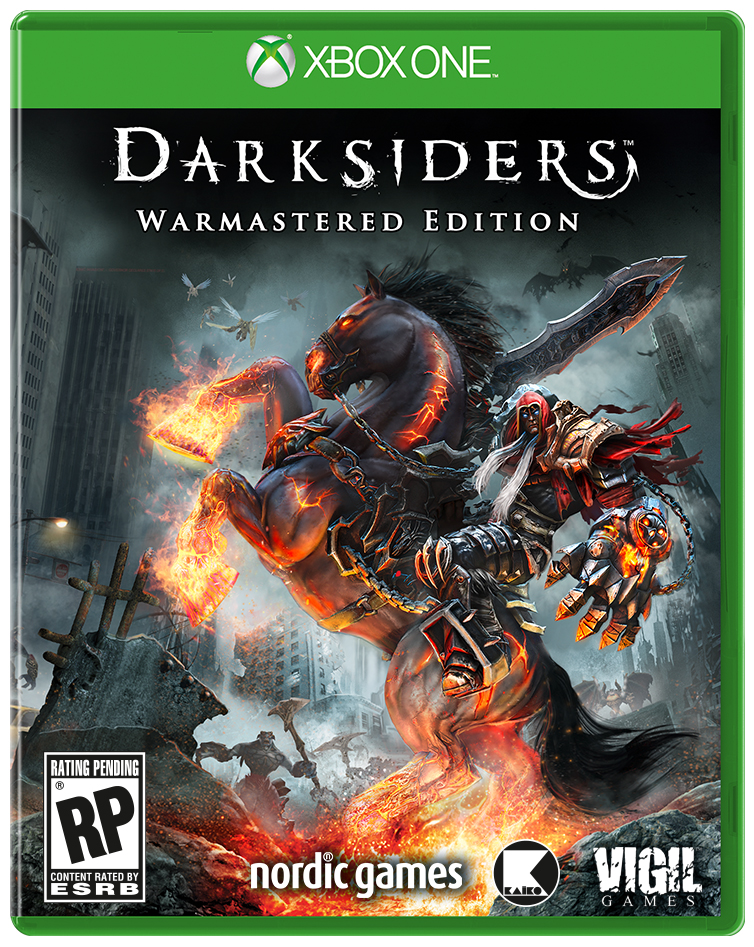 Бокс-арт (Xbox One) - Darksiders