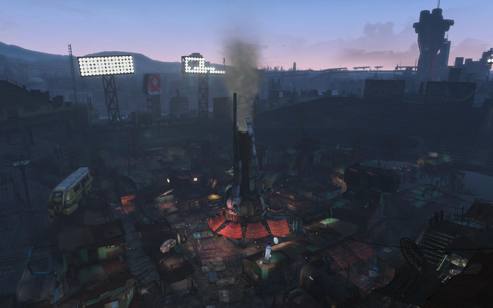 Такахаси варит суп, но дым уж больно подозрительный (Даймонд-сити) - Fallout 4