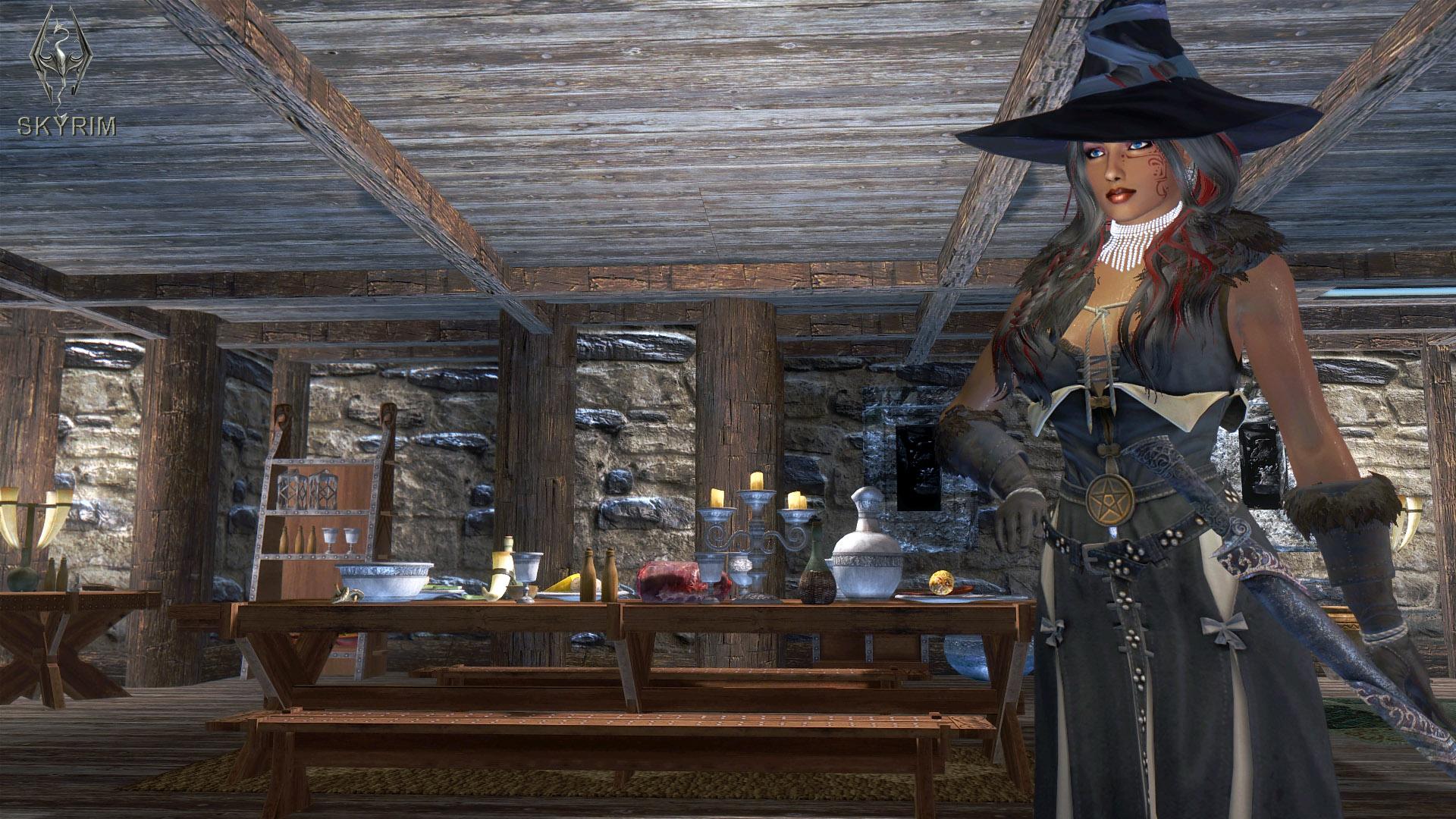 511. В доме Хьерим.jpg - Elder Scrolls 5: Skyrim, the CBBE, Сборка-21