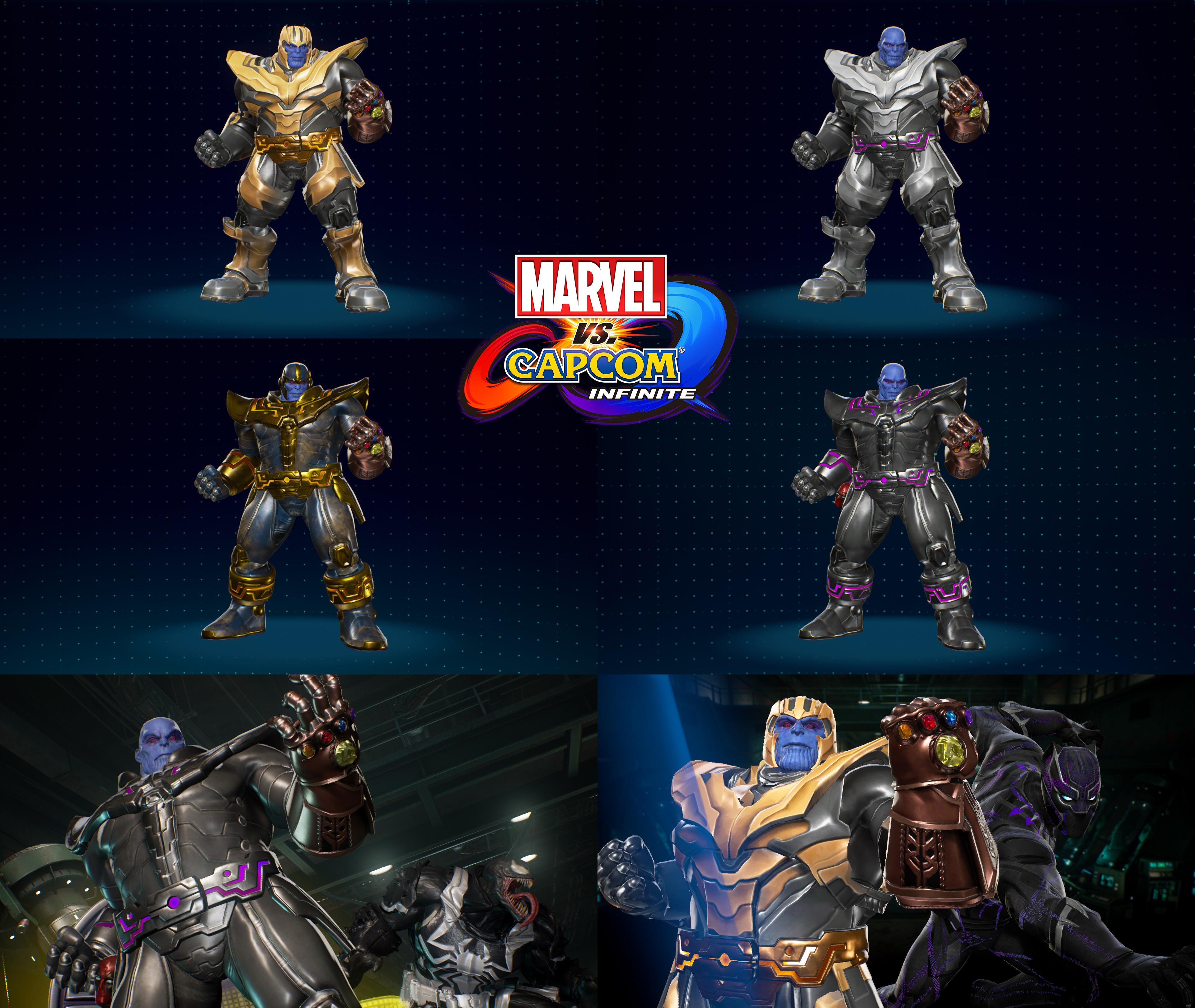 Милаха Танос - Marvel vs. Capcom: Infinite