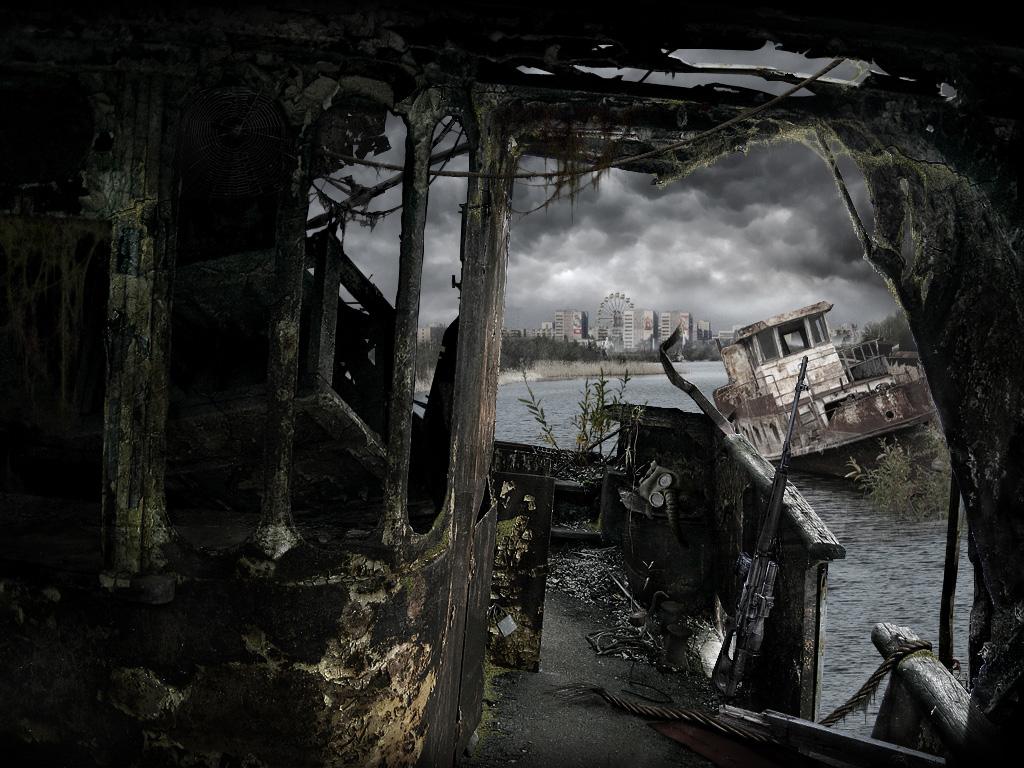 Меню игры Сталкер Зов Припяти - S.T.A.L.K.E.R.: Call of Pripyat