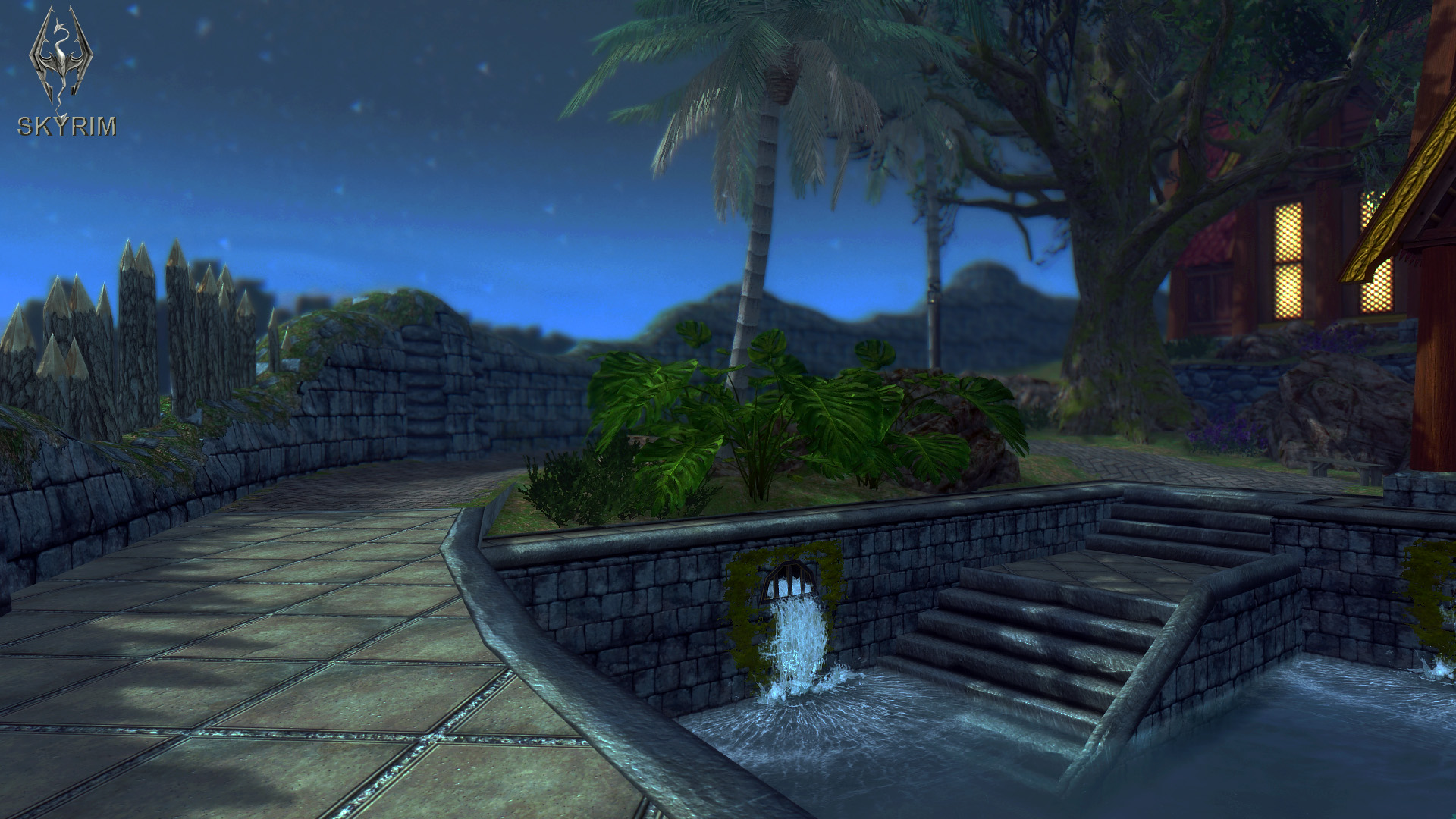521. Вечерний Вайтран.jpg - Elder Scrolls 5: Skyrim, the CBBE, Сборка-21